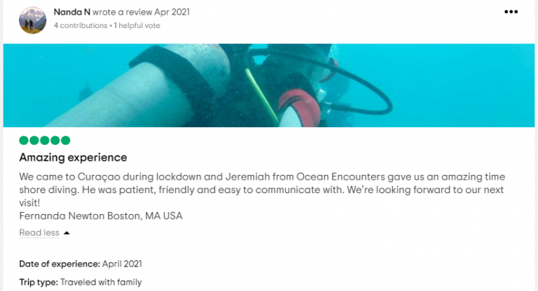 TripAdvisor Reviews | Ocean Encounters